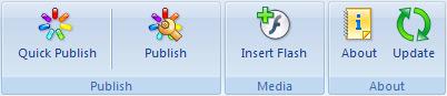 iSpring Toolbar