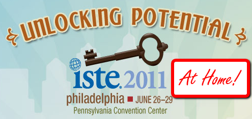 ISTE Conference from the Comfort of Home